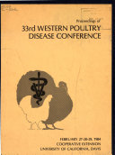 Proceedings of     Western Poultry Disease Conference
