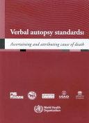 Verbal Autopsy Standards