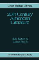 Twentieth Century American Literature