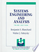 Systems Engineering and Analysis