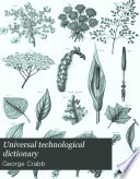 Universal Technological Dictionary Book