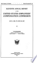 Annual Report of the United States Employees  Compensation Commission