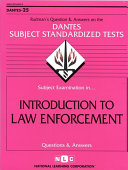 Introduction to Law Enforcement Book