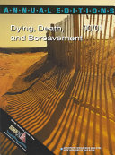 Dying  Death and Bereavement  2000 2001