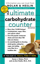 The Ultimate Carbohydrate Counter  Third Edition