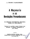 A Maçonaria e as revoluções pernambucanas