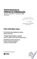 Revista brasileira de ciências da comunicação