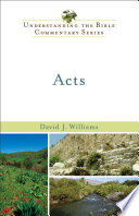 Acts Understanding The Bible Commentary Series