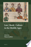 Law   Book   Culture in the Middle Ages