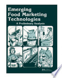 Emerging food marketing technologies   a preliminary analysis