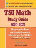 TSI Math Study Guide 2020   2021