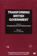 Transforming British Government