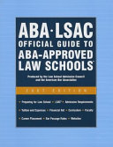 ABA LSAC Official Guide to ABA Approved Law Schools