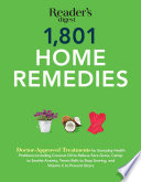 """""""1801 Home Remedies"""" by Editors at Reader's Digest"""