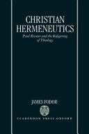Christian Hermeneutics