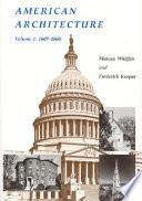 American Architecture 1607 1860