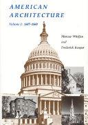 American Architecture: 1607-1860