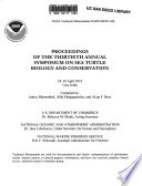 Proceedings of the Thirtieth Annual Symposium on Sea Turtle Biology and Conservation  24 30 April 2010