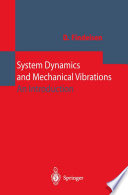 System Dynamics and Mechanical Vibrations Book
