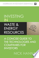 Investing In Waste   Energy Resources
