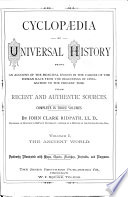 Cyclop Dia Of Universal History Book PDF