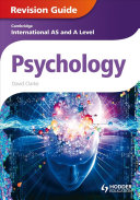 Books - AS And A Level Psychology Revision Guide | ISBN 9781444181456