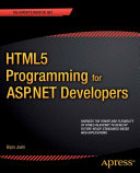 HTML5 Programming for ASP.NET Developers [Pdf/ePub] eBook