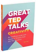 Great TED Talks  Creativity Book