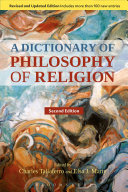 A Dictionary of Philosophy of Religion, Second Edition Pdf/ePub eBook