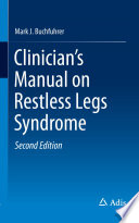 Clinician s Manual on Restless Legs Syndrome