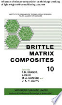 Brittle Matrix Composites