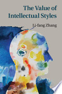 The Value of Intellectual Styles Book PDF