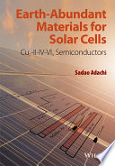 Earth-Abundant Materials for Solar Cells