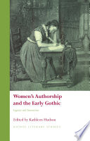 Women's Authorship and the Early Gothic