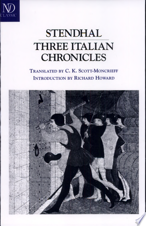 Read Book Three Italian Chronicles Free PDF - Read Full Book