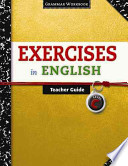 Exercises in English Level C Teacher Guide