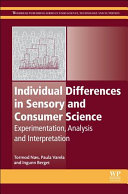 Individual Differences in Sensory and Consumer Science