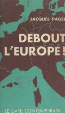 Debout l'Europe !