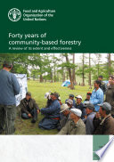 Forty years of community based forestry