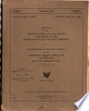 Report of the Job Evaluation and Pay Review Task Force to the United States Civil Service Commission