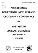 Proceedings of the     New Zealand Geography Conference