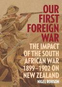 Our First Foreign War