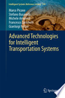 Advanced Technologies for Intelligent Transportation Systems Book