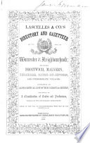 Lascelles   Co  s Directory and Gazetteer of the City of Worcester   Neighbourhood