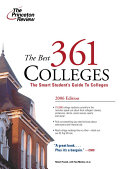 The Best 361 Colleges Book