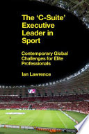The    C Suite    Executive Leader in Sport Book