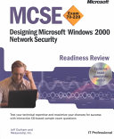MCSE Designing Microsoft Windows 2000 Network Security Readiness Review  Exam 70 220 Book