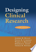 Cover of Designing Clinical Research