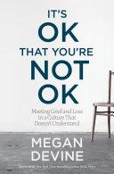It's OK That You're Not OK Pdf/ePub eBook