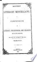 Wellman s Literary Miscellany